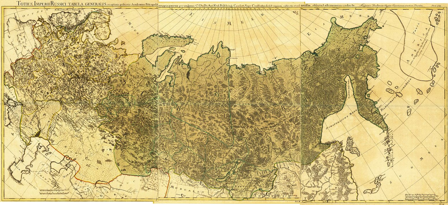 Old Russia maps